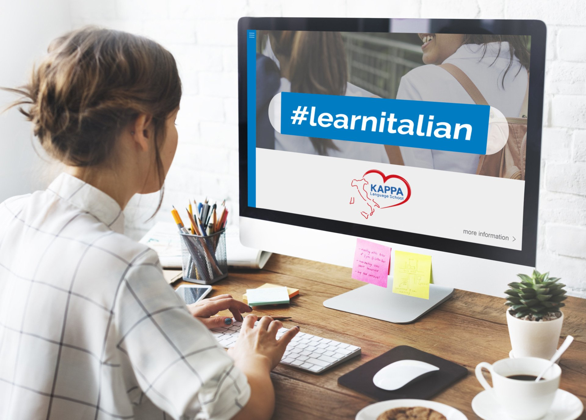 Learn Italian online with Kappa Language School